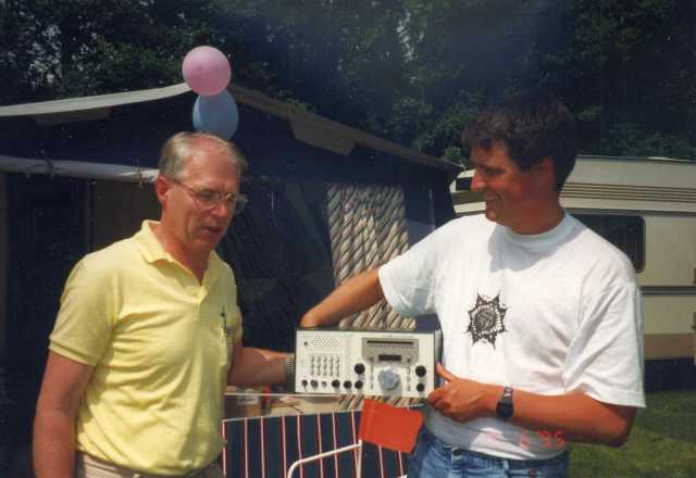 De prijs die ik van Jan mocht ontvangen op het VPK in 1995.