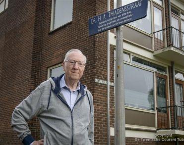 Archivaris Ties Wiegman (85) uit Enschede overleden