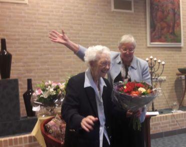 Zuster Vitalis (106) overleden