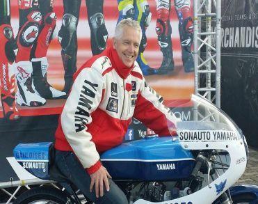 Oud-motorcoureur Gerard van der Wal (62) uit Manderveen overleden