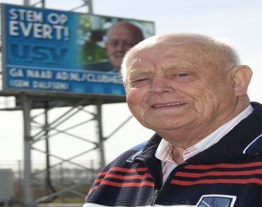 Evert Runhart (79) clubman van USV overleden