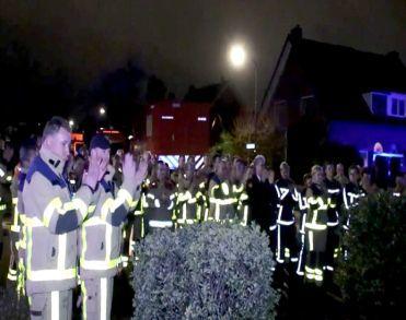 Brandweerman Henk Derks kort na bijzonder eerbetoon overleden