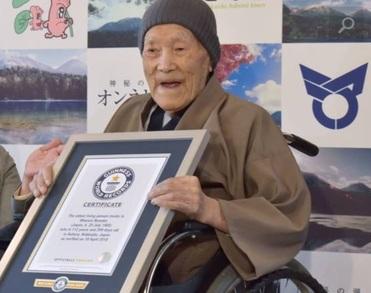 Oudste man ter wereld (113) overleden
