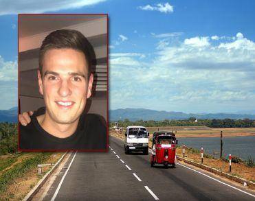 Timo van den Bosch (21) uit Zevenbergen overleden na taxi-ongeluk in Sri Lanka