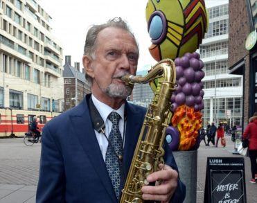 Saxofonist Frits Kaatee (81) overleden