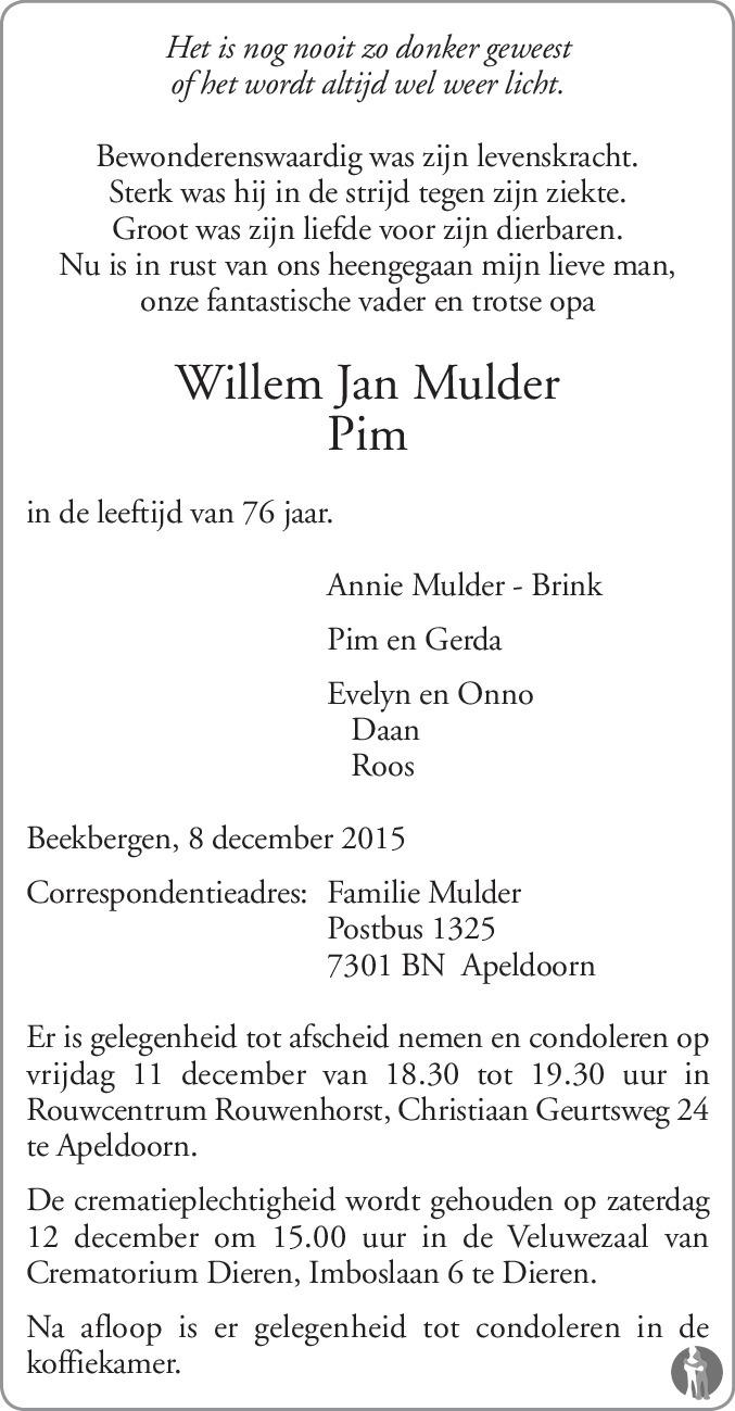 Willem De Mulder* Mulder - Nice One / It's All In The Hips