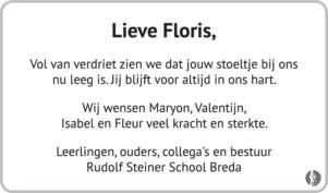 advertentie van Floris