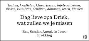Driek Brokking Koraalbewerkingen
