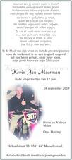 advertentie van Kevin Jan Moorman