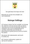 advertentie van Keimpe Vellinga