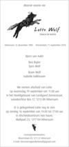 overlijdensbericht van Lotte Wolf