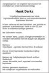 advertentie van Henk  Derks