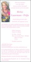 advertentie van Betsy  Laarman - Prijs